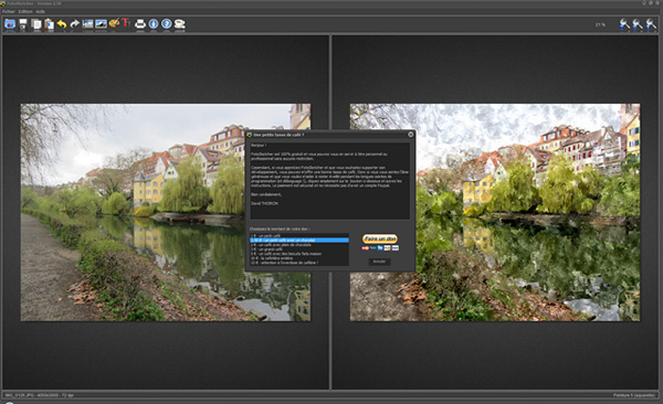 logiciel fotosketcher